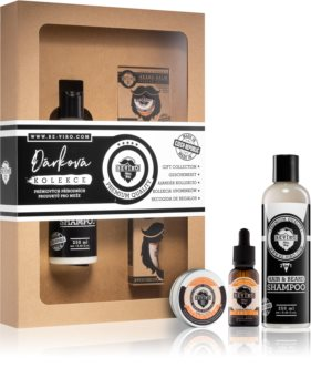 Beviro Men's Only Grapefruit, Cinnamon, Sandal Wood Cosmetica Set  III. (voor Mannen )