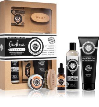 Be-Viro Men's Only Grapefruit, Cinnamon, Sandal Wood Cosmetica Set  II. (voor Mannen )