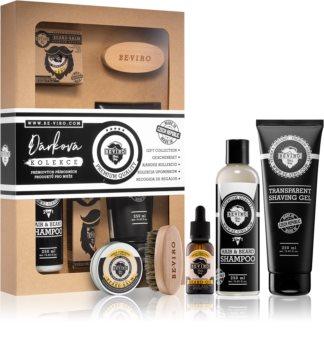 Beviro Men's Only Vanilla, Tonka Beans, Palo Santo Cosmetic Set II. (for Men)