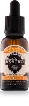 Beviro Men's Only Grapefruit, Cinnamon, Sandal Wood Beard Oil