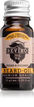 Beviro Men's Only Vanilla, Tonka Beans, Palo Santo olio da barba