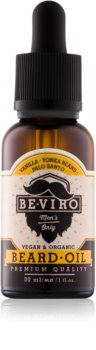 Be-Viro Men's Only Vanilla, Tonka Beans, Palo Santo Beard Oil