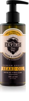 Be-Viro Men's Only Vanilla, Tonka Beans, Palo Santo olio da barba
