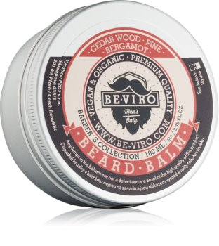 Be-Viro Men's Only Cedar Wood, Pine, Bergamot balzam za brado