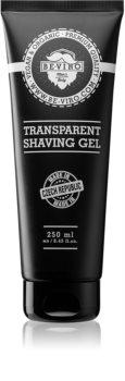 Beviro Men's Only Transparent Shaving Gel Shaving Gel In Tube