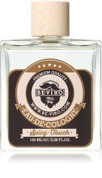 Beviro Men's Only Spicy Touch Eau de Cologne for Men