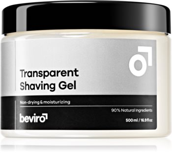 Beviro Transparent Shaving Gel Shaving Gel for Men
