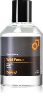 Beviro Wild Focus Eau de Cologne für Herren