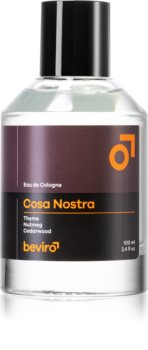 Beviro Cosa Nostra Eau de Cologne for Men