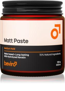 Beviro Matt Paste Medium Hold pasta na vlasy