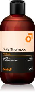 Beviro Daily Shampoo šampon pro muže s aloe vera