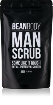 Bean Body Man scrub lisciante corpo per uomo