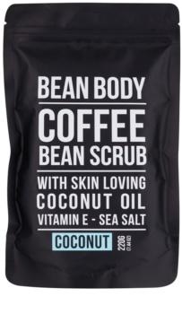 Bean Body Coconut esfoliante corporal de alisamento