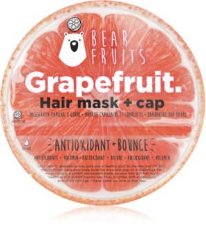 Bear Fruits Avocado haj maszk a rugalmas és dús hajért