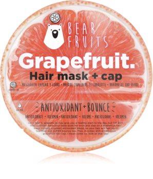 Bear Fruits Avocado maska na vlasy pro pružnost a objem