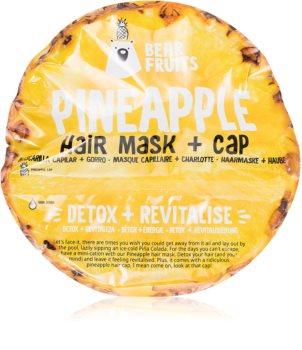 Bear Fruits Pineapple оздоравливающая маска для волос