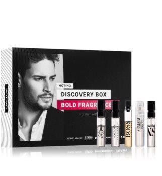 Notino Discovery Box Bold fragrances men Gift Set for Men
