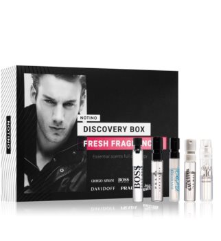 Notino Discovery Box Fresh fragrances men Gift Set for Men
