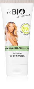 beBIO Spirulina & Chlorella zjemňující sprchový gel