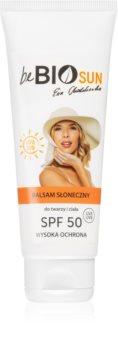 beBIO Sun feuchtigkeitsspendende Creme zum bräunen SPF 50