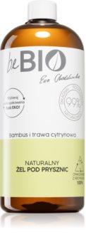 beBIO Bamboo & Lemongrass osvěžující sprchový gel