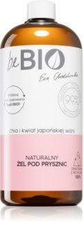 beBIO Chia & Japanese Cherry Blossom gel douche hydratant