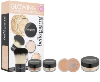 BelláPierre Glowing Complexion Essentials Kit kosmetická sada I.