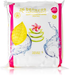 Benecos Natural Care Cleansing Facial Wipes With Aloe Vera