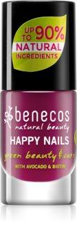 Benecos Happy Nails зміцнюючий лак для нігтів