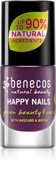 Benecos Happy Nails lac de unghii pentru ingrijire