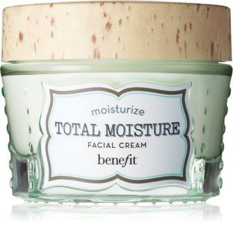 Benefit Total Moisture Facial Cream intenzív hidratáló krém az élénk bőrért