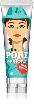 Benefit The POREfessional Matte Rescue Gel unsichtbares Gel zum Mattieren gegen ein glänzendes Gesicht und erweiterte Poren
