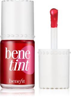 Benefit Benetint Cheek & Lip Stain folyékony tonizáló az arcra és a szájra
