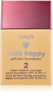 Benefit Hello Happy tekutý make-up SPF 15