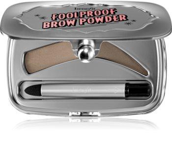 Benefit Foolproof пудра для брів у практичному магнітному чохлі