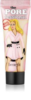 Benefit The POREfessional Pearl Primer Mini posvetlitvena podlaga za make-up za zmanjšanje por