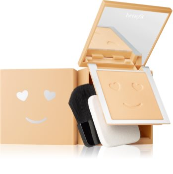 Benefit Hello Happy Velvet Powder Foundation kompakt púderes make-up