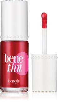 Benefit Benetint Cheek & Lip Stain tekoči pripravek za toniranje za ustnice in lica