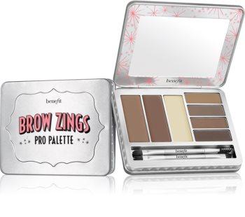 Benefit Brow Zings Pro Palette paletta a szemöldök sminkeléséhez applikátorral