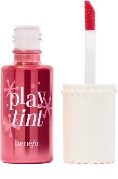 Benefit Playtint Cheek & Lip Stain folyékony tonizáló az arcra és a szájra