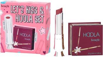 Benefit Let's Kiss & Hoola kozmetični set za ženske