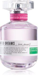 Benetton United Dreams for her Love Yourself eau de toilette pentru femei