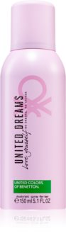 Benetton United Dreams for her Love Yourself Deodorant Spray for Women