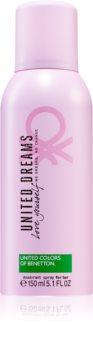 Benetton United Dreams for her Love Yourself Spray deodorant til kvinder
