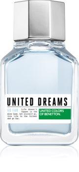 Benetton United Dreams for him Go Far eau de toilette uraknak