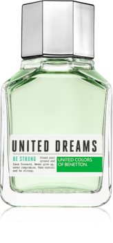 Benetton United Dreams for him Be Strong eau de toilette para homens