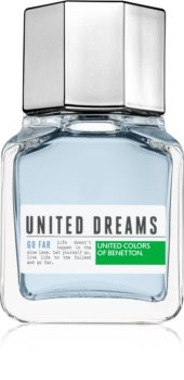 Benetton United Dreams for him Go Far eau de toilette para homens