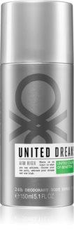 Benetton United Dreams for him Aim High Deodoranttisuihke Miehille