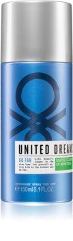 Benetton United Dreams for him Go Far deodorante spray per uomo