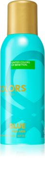 Benetton Colors de Benetton Woman Blue Deodorant Spray for Women